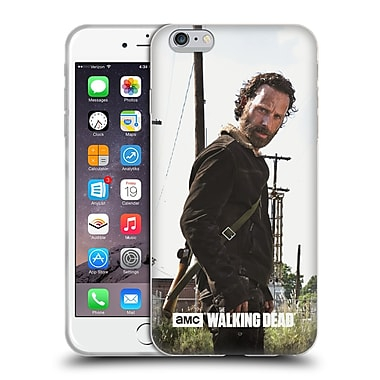 Official Amc The Walking Dead Filtered Characters Rick Gun Soft Gel Case For Apple Iphone 6 Plus / 6S Plus