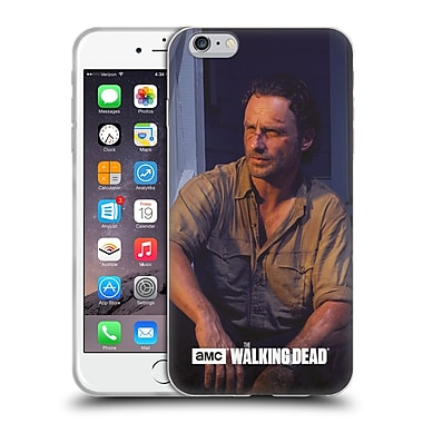 Official Amc The Walking Dead Filtered Characters Rick Soft Gel Case For Apple Iphone 6 Plus / 6S Plus