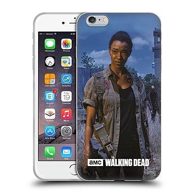 Official Amc The Walking Dead Filtered Characters Sasha Soft Gel Case For Apple Iphone 6 Plus / 6S Plus