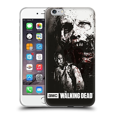 Official Amc The Walking Dead Gore Morgan And Lurker Soft Gel Case For Apple Iphone 6 Plus / 6S Plus