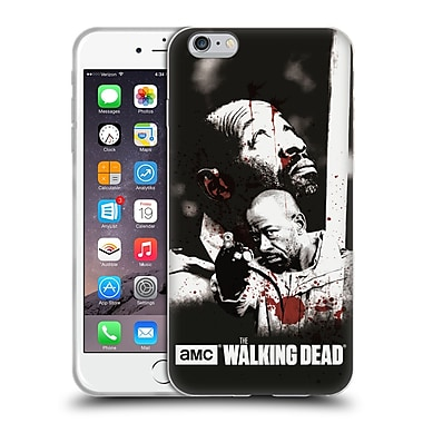 Official Amc The Walking Dead Gore Morgan Soft Gel Case For Apple Iphone 6 Plus / 6S Plus