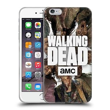 Official Amc The Walking Dead Logo Group Soft Gel Case For Apple Iphone 6 Plus / 6S Plus