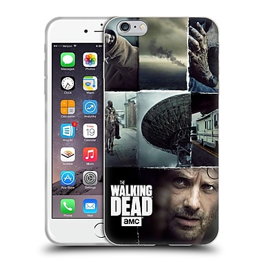 Official Amc The Walking Dead Logo Key Art Vertical Soft Gel Case For Apple Iphone 6 Plus / 6S Plus
