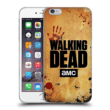 Official Amc The Walking Dead Logo Stacked Soft Gel Case For Apple Iphone 6 Plus / 6S Plus