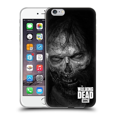 Official Amc The Walking Dead Logo Stare Soft Gel Case For Apple Iphone 6 Plus / 6S Plus