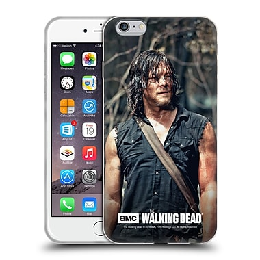 Official Amc The Walking Dead Daryl Dixon Look Soft Gel Case For Apple Iphone 6 Plus / 6S Plus