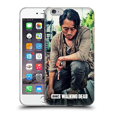 Official Amc The Walking Dead Glenn Rhee Bloody Hands Soft Gel Case For Apple Iphone 6 Plus / 6S Plus