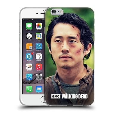 Official Amc The Walking Dead Glenn Rhee Face Soft Gel Case For Apple Iphone 6 Plus / 6S Plus