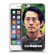 Official Amc The Walking Dead Glenn Rhee Face Soft Gel Case For Apple Iphone 6 Plus / 6S Plus