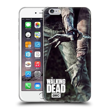 Official Amc The Walking Dead Key Art Walker In Chains Soft Gel Case For Apple Iphone 6 Plus / 6S Plus