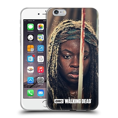 Official Amc The Walking Dead Michonne Bloody Sword Soft Gel Case For Apple Iphone 6 Plus / 6S Plus