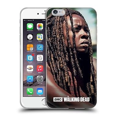 Official Amc The Walking Dead Michonne Profile Soft Gel Case For Apple Iphone 6 Plus / 6S Plus