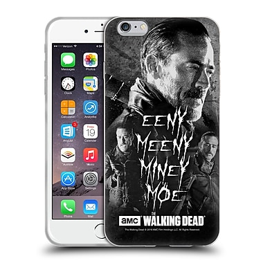 Official Amc The Walking Dead Negan Eeny Miney Bw Soft Gel Case For Apple Iphone 6 Plus / 6S Plus