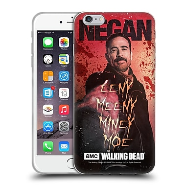 Official Amc The Walking Dead Negan Eeny Miney Coloured Soft Gel Case For Apple Iphone 6 Plus / 6S Plus