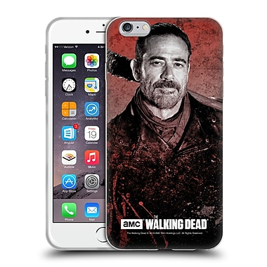 Official Amc The Walking Dead Negan Lucille 2 Soft Gel Case For Apple Iphone 6 Plus / 6S Plus
