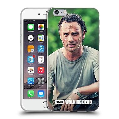 Official Amc The Walking Dead Rick Grimes Half Body Soft Gel Case For Apple Iphone 6 Plus / 6S Plus