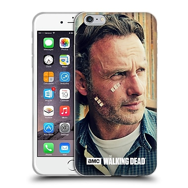 Official Amc The Walking Dead Rick Grimes Cuts And Bandages Soft Gel Case For Apple Iphone 6 Plus / 6S Plus