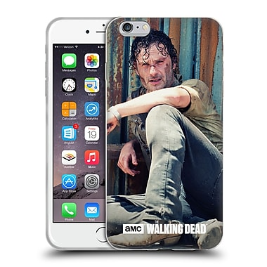 Official Amc The Walking Dead Rick Grimes On The Ground Soft Gel Case For Apple Iphone 6 Plus / 6S Plus