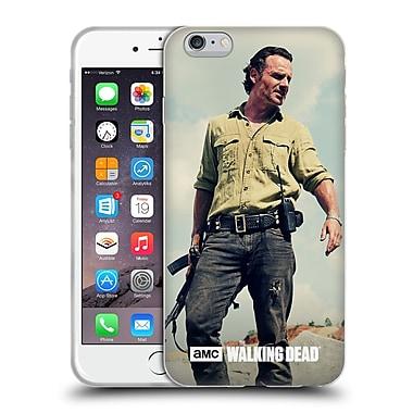 Official Amc The Walking Dead Rick Grimes Stance Soft Gel Case For Apple Iphone 6 Plus / 6S Plus