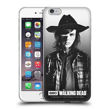 Official Amc The Walking Dead Filtered Portraits Carl Soft Gel Case For Apple Iphone 6 Plus / 6S Plus