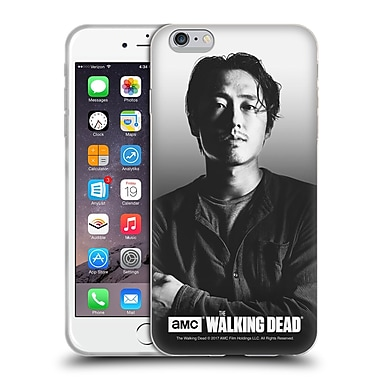 Official Amc The Walking Dead Filtered Portraits Glenn Soft Gel Case For Apple Iphone 6 Plus / 6S Plus