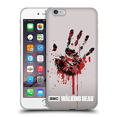 Official Amc The Walking Dead Silhouettes Hand Soft Gel Case For Apple Iphone 6 Plus / 6S Plus