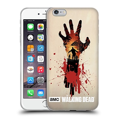 Official Amc The Walking Dead Silhouettes Walker Hand Soft Gel Case For Apple Iphone 6 Plus / 6S Plus