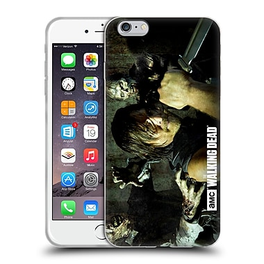 Official Amc The Walking Dead Walker Character Daryl Knife Soft Gel Case For Apple Iphone 6 Plus / 6S Plus