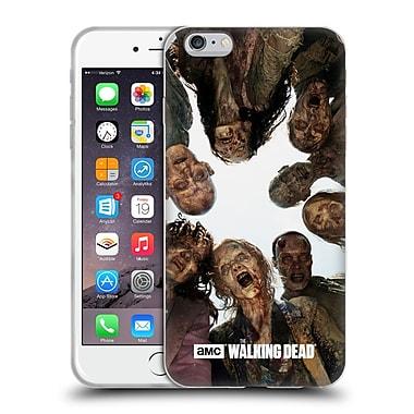 Official Amc The Walking Dead Walker Character Walker Group Soft Gel Case For Apple Iphone 6 Plus / 6S Plus