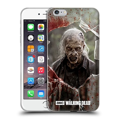 Official Amc The Walking Dead Walkers Angry Soft Gel Case For Apple Iphone 6 Plus / 6S Plus