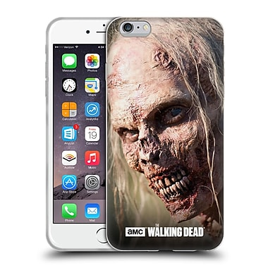 Official Amc The Walking Dead Walkers Grin Soft Gel Case For Apple Iphone 6 Plus / 6S Plus