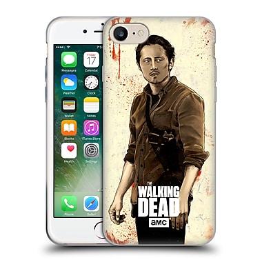 Official Amc The Walking Dead Distressed Illustrations Glenn Soft Gel Case For Apple Iphone 7