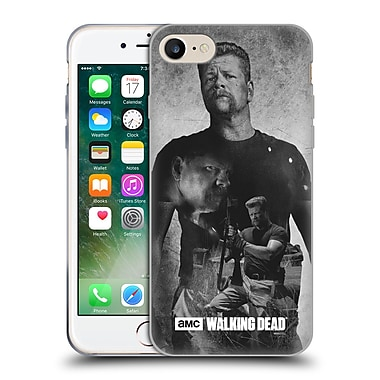 Official Amc The Walking Dead Exposure Abraham Soft Gel Case For Apple Iphone 7