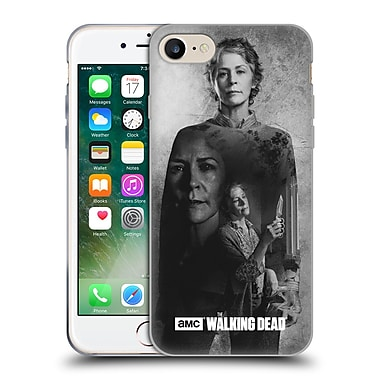 Official Amc The Walking Dead Exposure Carol Soft Gel Case For Apple Iphone 7