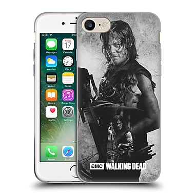 Official Amc The Walking Dead Exposure Daryl Soft Gel Case For Apple Iphone 7