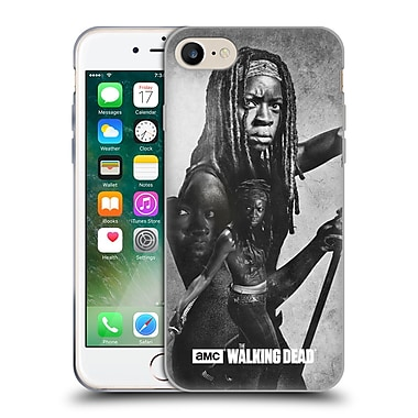Official Amc The Walking Dead Exposure Michonne Soft Gel Case For Apple Iphone 7