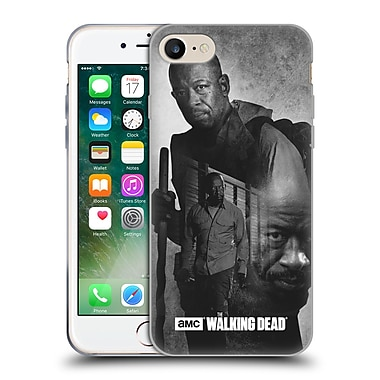 Official Amc The Walking Dead Exposure Morgan Soft Gel Case For Apple Iphone 7