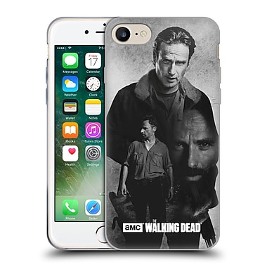 Official Amc The Walking Dead Exposure Rick Soft Gel Case For Apple Iphone 7