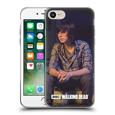Official Amc The Walking Dead Filtered Characters Carl Soft Gel Case For Apple Iphone 7