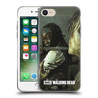 Official Amc The Walking Dead Filtered Characters Michonne Katana Soft Gel Case For Apple Iphone 7