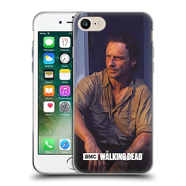 Official Amc The Walking Dead Filtered Characters Rick Soft Gel Case For Apple Iphone 7