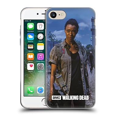 Official Amc The Walking Dead Filtered Characters Sasha Soft Gel Case For Apple Iphone 7