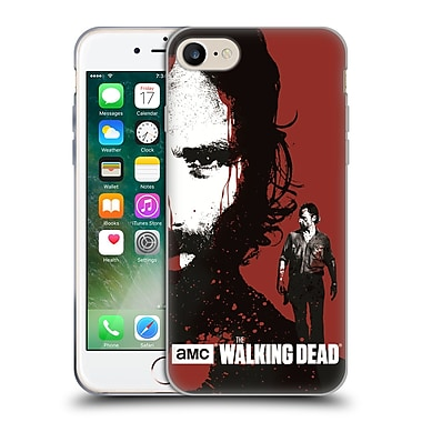 Official Amc The Walking Dead Gore Bloody Face Rick Soft Gel Case For Apple Iphone 7