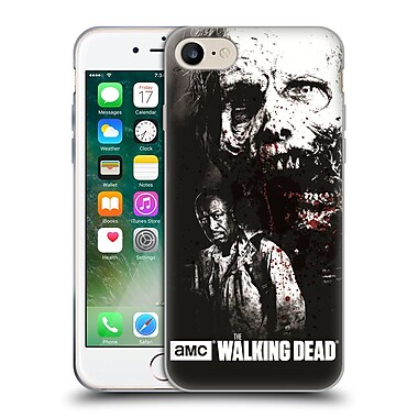 Official Amc The Walking Dead Gore Morgan And Lurker Soft Gel Case For Apple Iphone 7