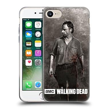 Official Amc The Walking Dead Gore Rick Grimes Soft Gel Case For Apple Iphone 7