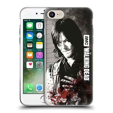 Official Amc The Walking Dead Gore Wounded Hand Soft Gel Case For Apple Iphone 7