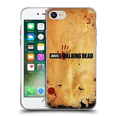 Official Amc The Walking Dead Logo Horizontal Soft Gel Case For Apple Iphone 7