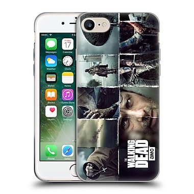 Official Amc The Walking Dead Logo Key Art Horizontal Soft Gel Case For Apple Iphone 7