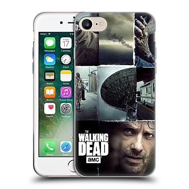 Official Amc The Walking Dead Logo Key Art Vertical Soft Gel Case For Apple Iphone 7