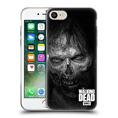 Official Amc The Walking Dead Logo Stare Soft Gel Case For Apple Iphone 7